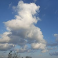 かっこいい積雲