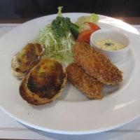 牡蠣のフライ&グラタン