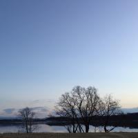 今朝の佐鳴湖