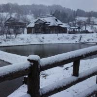 大月の棚田 ~久しぶりの降雪~