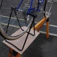 ロードバイク整備スタンドの自作 その2
