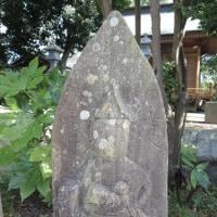 水戸の女人講中 石像(3)