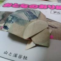 大人の折り紙(ターバン野口・亀)