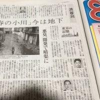 春の小川読売新聞の記事