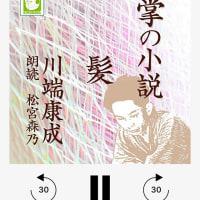 川端康成箸「手の小説 髪」@Amazonオーディブル聴了。  わずか4分の短い小説。今ならショートショート。川端康成さんも、超短編小説を書いていたんだねぇ。 それでも、やっぱり味がある