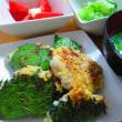 アジのサンガ焼き/五香鶏排飯