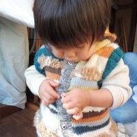 モデル登場です・・・・・・・子供と動物写真に説明はいりませんね