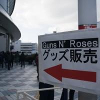 GUNS N' ROSES OSAKA