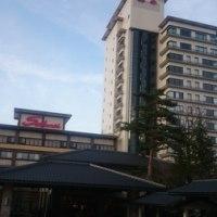 旅館に着きました。