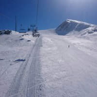 ギリシャでスキー!