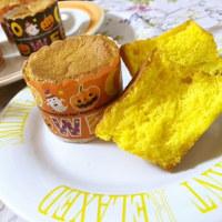 ハッピーハロウィン☆かぼちゃのカップシフォンケーキ