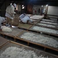純米大吟醸の仕込み