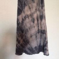 アルマーニの生地で楽ちんスカート