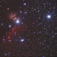 16/12/02  県民の森「冬の陣」  part9  最終回「オリオン座のNGC2024 燃木星雲 と IC434 馬頭星雲…。☆*:.。. o(≧▽≦)o .。.:*☆」
