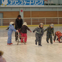 スケート教室いってきたよ!