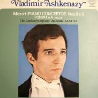 ◇クラシック音楽LP◇若き日のアシュケナージのモーツァルト:ピアノ協奏曲第9番/第8番/ロンド