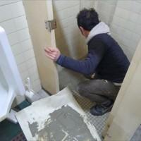 トイレ工事完了~