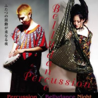 2011年1月28日Percussion×bellydance night
