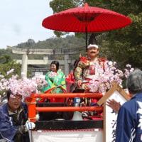 清盛公ご一行厳島神社参拝へ