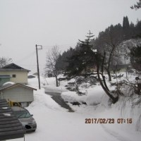 奥会津の国道は・・・山沿いを廻り込む国道ですので、雪崩には十分お気を付けて・・・ブログ更新しました!