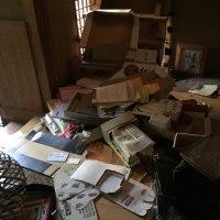 熊本市 ゴミ搬出‼️公費解体前の不用品片付け処分 エアコンフロンガス回収処分賜ります。