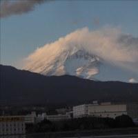 富士吉田から山中湖の富士山・・・
