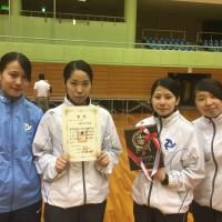 女子サーブル 第67回全日本学生フェンシング王座決定戦