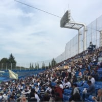 東京大学野球部と法政大学野球部の試合終わりました。