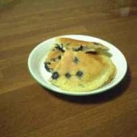 ブルーベリーのミルキーホットケーキ