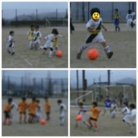 hinaサッカーの練習試合