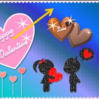 チョコ大好き!明日はバレンタインデー
