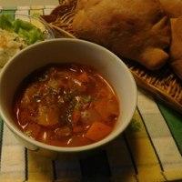 【スパイス大使】 朝のトマトスープ