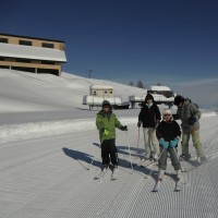 楽しいスキーだった