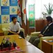 日本下水道事業団教授との懇談、チャリティーゴルフ大会成績発表会など