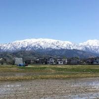 昼下がりの「立山連峰」