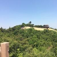 鬼ノ城にて