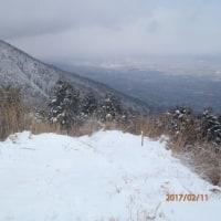 雪の発心山
