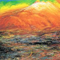 160.朝焼けの鳥海山
