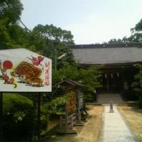 鍵屋資料館、割烹藤でくらわんか素麺御膳とくらわんか汁、意賀美神社