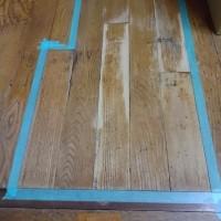 賃貸物件の色剥げのフローリング補修