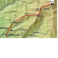 福井、経ヶ岳登山(詳細)