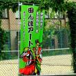 小野川温泉の田んぼアート 山形県米沢市