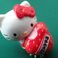 ご当地キティ 504 福岡 あまおう2014  Fukuoka strawberry AMAOU