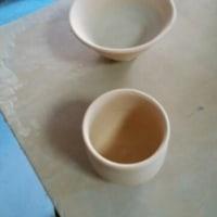 湯呑み茶碗の施釉