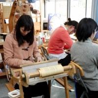 東京から来た織り人が5人