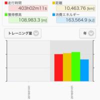 2016年走行データ