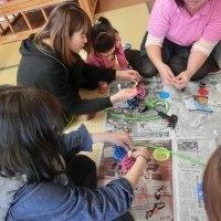 ひな人形制作~頴娃保健センター&スマイルクラブ~