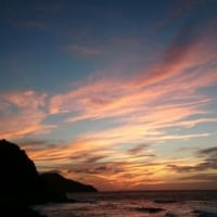 二見ヶ浦の夕陽