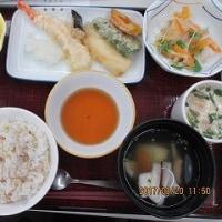 春分の日の昼食
