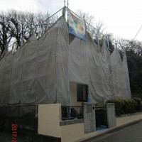 東朝比奈2丁目 W様邸塗装工事